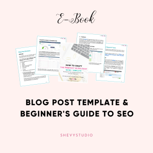 SEO Blog Post Template – Ebook